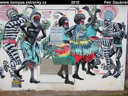 Graffiti v Port Vila