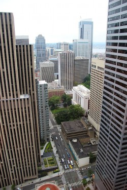 Pohled z Columbia Center